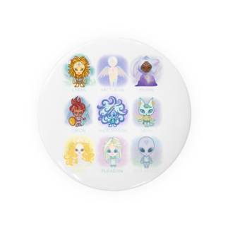 alpacca-creativeのThe Starseed(ザ・スターシード) Badges