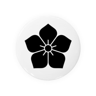 明智家の家紋(桔梗) Badges
