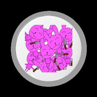 いなかのくるま 木佐の脅迫うさちゃんズ缶バッチ Badges