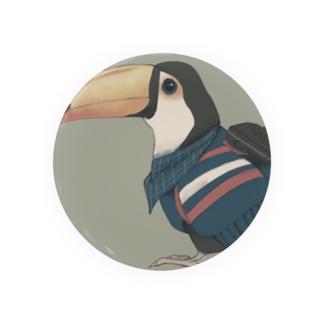 南国育ちの旅人オニオオハシ Badges