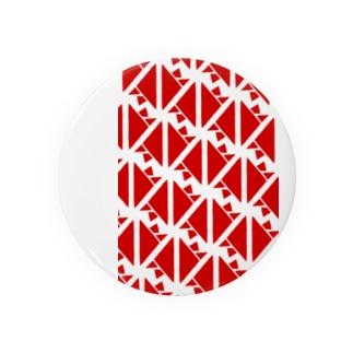 サーヴィエ行進曲 紅 Badges