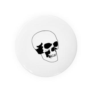 普通の骸骨 Badges