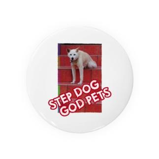 STEPDOG GODPETS 缶バッジ