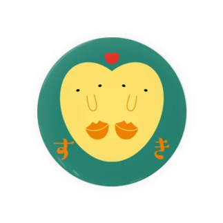 相思相愛おまめちゃん Badges