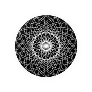 幾何学模様 series Badges