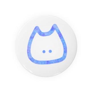 ねこさん。(水彩blue) Badges