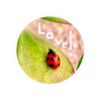 Happyてんとう虫(Love) Badges