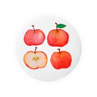 林檎(文字無し) Badges