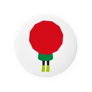 赤い傘の女の子 Badges
