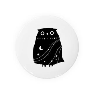 夜のフクロウ Badges