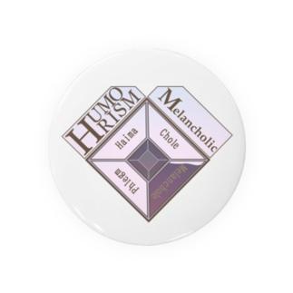 HUMORISM〈四体液説〉 Melancholic Badges