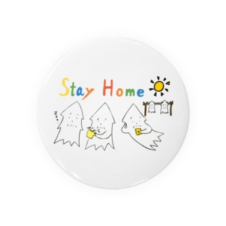 STAY HOME モンゴイカ Badges