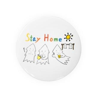 モンゴイカンパニー 販売部のSTAY HOME モンゴイカ Badges