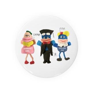おさかなカムバック Badges
