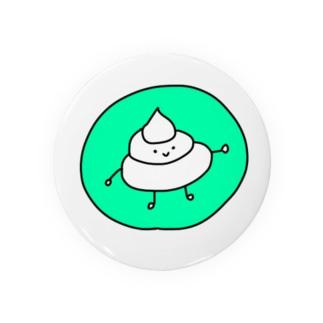 ごきげんうんちくん(キミドリ) Badges