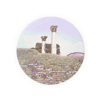 CG絵画:オスティアの神殿遺跡 CG art: Ostia Badges