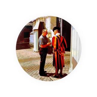 CG絵画:バチカンのスイス人衛兵 CG art: Vatican Guard Badges