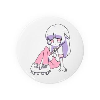 ローラースケートちゃん Badges