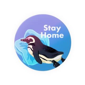Stay Homeフンボルトペンギン Badges