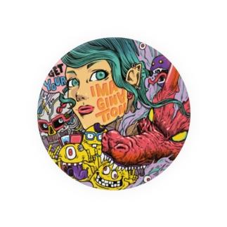 IMAGINATION GIRL Badge