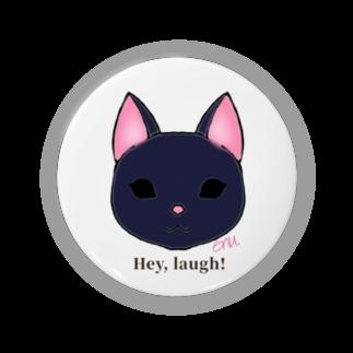 enu. のHey, laugh!(黒猫) Badges