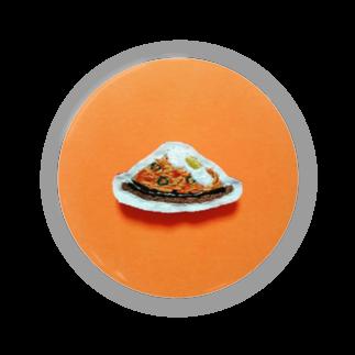 m_shishuuの目玉焼きのせ鉄板ナポリタン Badges