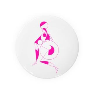 akira muraccoのcircus_pink Badges