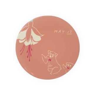 ととめめ明日のお花:5月17日 Badges