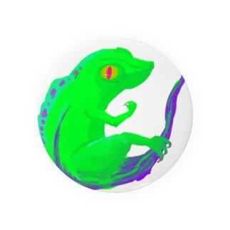 Small Dragon 緑 Badges