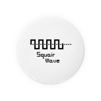 オリジナル Square wave ロゴ 8bit風 Badges