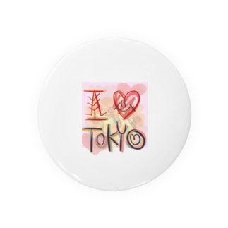 ILOVE TOKYO! Badges