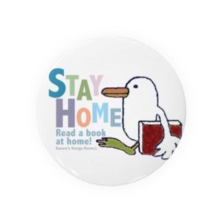 ステイホーム鳥 Badges
