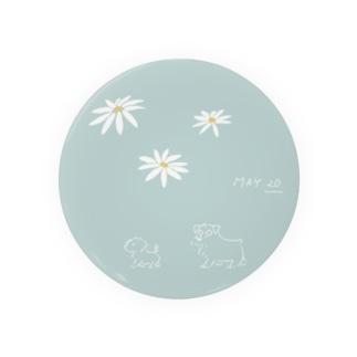 ととめめ明日のお花:5月20日 Badges