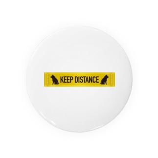 KEEP DISTANCE Badges