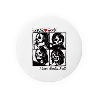LOVE ROCK Badges
