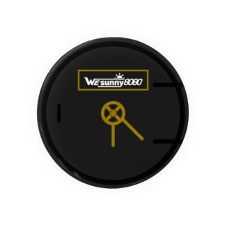 ロゴマーク(SL風) 缶バッジ