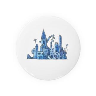 青い街 Badges