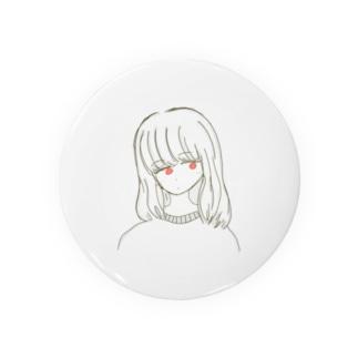 赤目ちゃん Badges