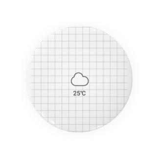 25℃ Badges