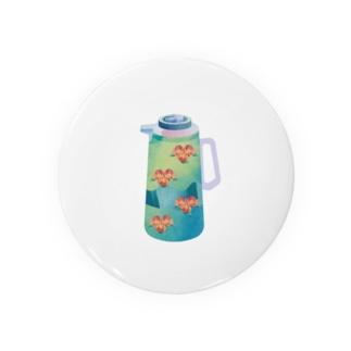 夢の給湯ポット 中国茶 Badges