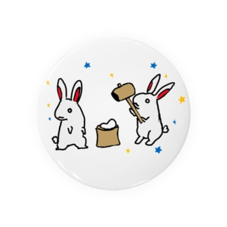 望月のウサギ Badges