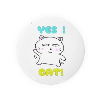 白猫のミャウ Badges