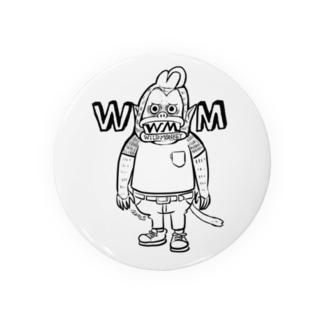 ハードワイルドモンキー Badges