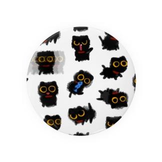黒猫 トイくん Badges