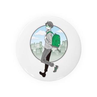 眼鏡男子 Badges
