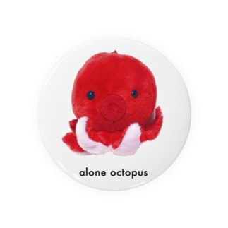 alone octopus Badges