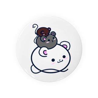 3匹の鼠 Badges