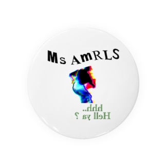 Ms Amaryllis HELL YA Badges