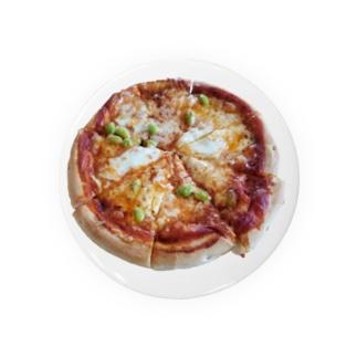 枝豆のピザ Badges