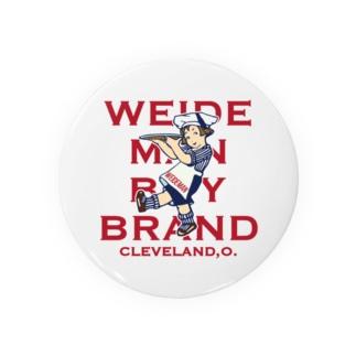 WEIDEMAN BOY BRAND Badges